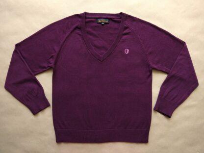 42 . Ben Sherman . dámský fialovovínový svetr