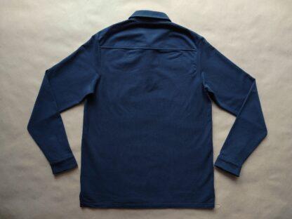 S . Farah . tmavě modré polo s dlouhým rukávem