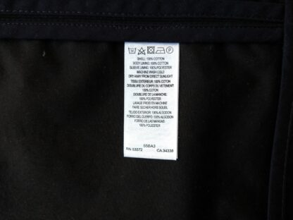 XS/S . French Connection . lehký černý kabát