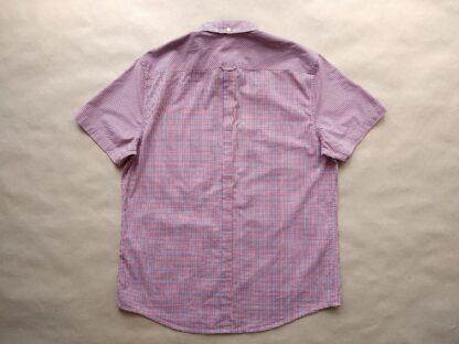 L/XL . Ben Sherman . modro-červeno-bílá kostkovaná košile