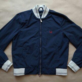 M . Fred Perry . dámská tmavě modrá bunda monkey jacket