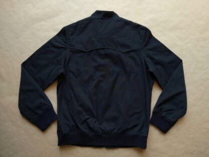 M . Ben Sherman . dámská černá bunda Harrington s kostkovanou podšívkou
