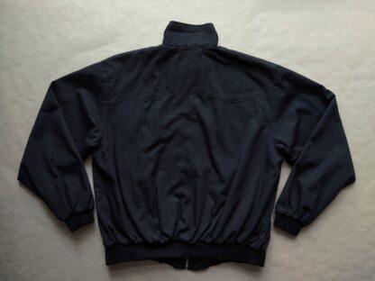M . Pro Company . černá bunda Harrington s tartanovou podšívkou